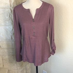 NWT Waffle Knit Top Size s